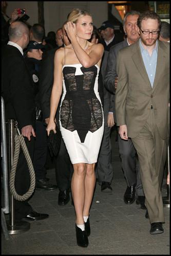 El atrevido look de Gwyneth Paltrow
