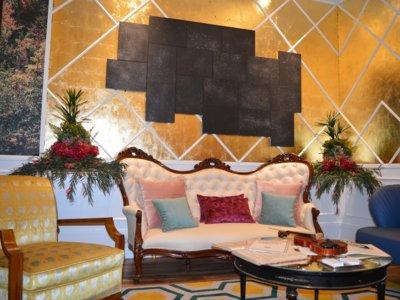 El estudio Viteri Lapeña crea un sofisticado salón de música en Casa Decor