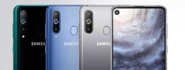 Samsung Galaxy A8s: es oficial el primer smartphone del mundo con agujero en la pantalla para la cámara frontal