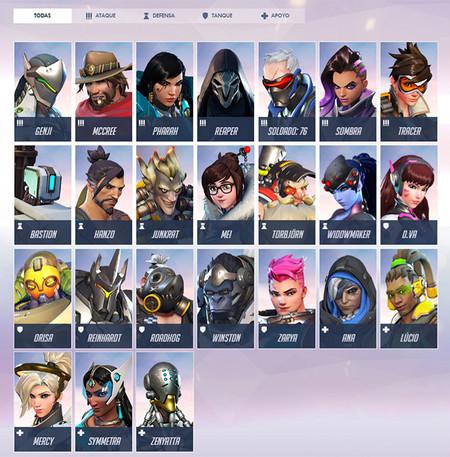 Heroes Overwatch