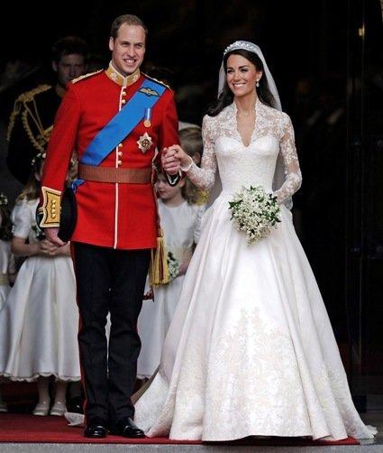 Y los novios ya se han casado: ¡Qué vivan el príncipe Guillermo y Kate Middleton!