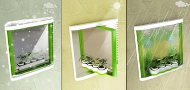 Ventanas giratorias, ¿serán así las ventanas del futuro?