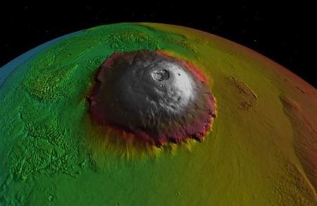 El Olimpo de Marte, techo del Sistema Solar