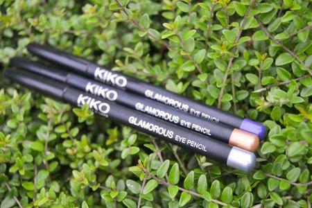 Probamos los lápices Glamorous de Kiko: tonos dorado, plateado y violeta
