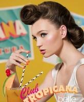El toque tropical lo aporta Belle & Makeup con su colección Club Tropicana
