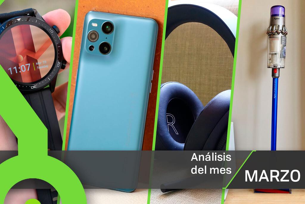 Los 27 análisis de marzo de Xataka: 8 móviles, 4 auriculares, drones, kits de domótica y todas nuestras reviews con sus notas