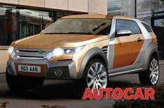 Land Rover planea un coupé