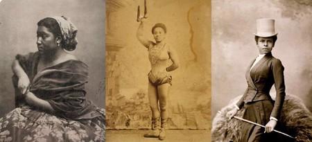 Tres Modelos Negras Fotografiadas Por Nadar