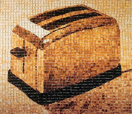 The Toaster, arte con pan tostado