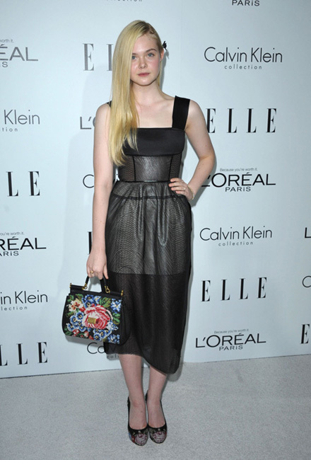 fiesta Elle Women in Hollywood 2012 Ellen Fanning
