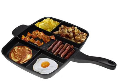 Master Pan, la sartén en la que puedes preparar varios alimentos al mismo tiempo sin que se mezclen