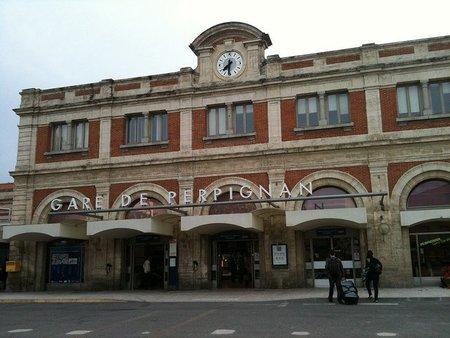 Estacion de Perpiñán