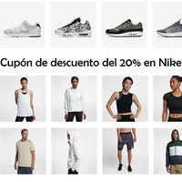 Cupón de descuento del 20% extra para la sección de ofertas de Nike
