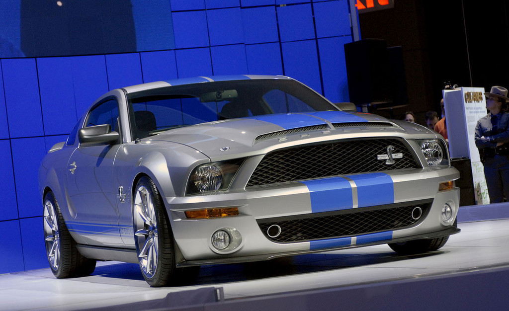 2008 Shelby Mustang Gt500kr 50 50