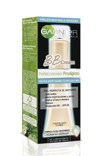 BB Cream de Garnier, ahora de efecto matificante para pieles grasas