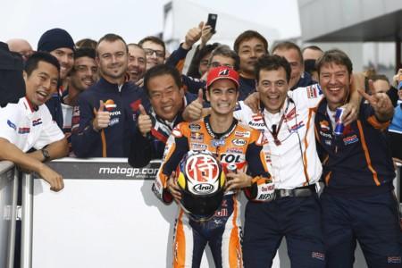 Dani Pedrosa ya es el tercer piloto con más podios tras igualar a Ángel Nieto
