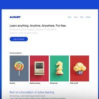 Alcamy, la plataforma de aprendizaje online que quiere ser como un hijo entre Reddit y la Wikipedia