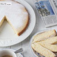 Bizcocho de harina de arroz y yogur de soja. Receta para el #DíadelCelíaco