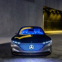Mercedes-Benz EQS podría ser el primer coche eléctrico tocado por AMG, y con más de 600 CV