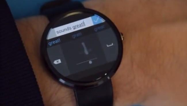 Microsoft Research crea un teclado para escribir a mano alzada en smartwatches