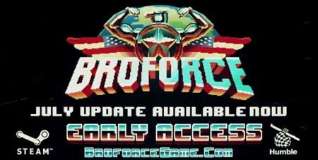 Actualización de julio de Broforce agrega más combate cuerpo-a-cuerpo