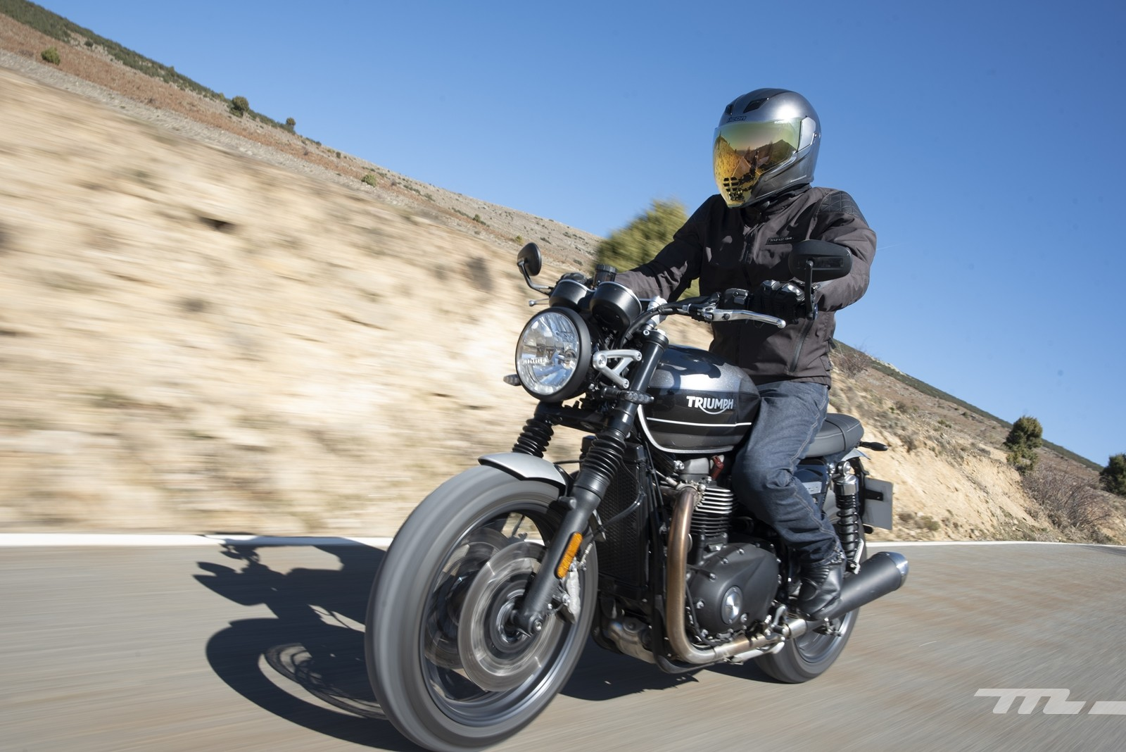 Foto de Triumph Speed Twin 2019, prueba (9/80)