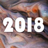 24 noches muy buenas: el año 2018 en imágenes del espacio y de cielos espectaculares