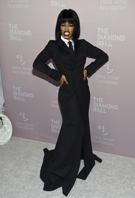 Teyana Taylor diamond ball