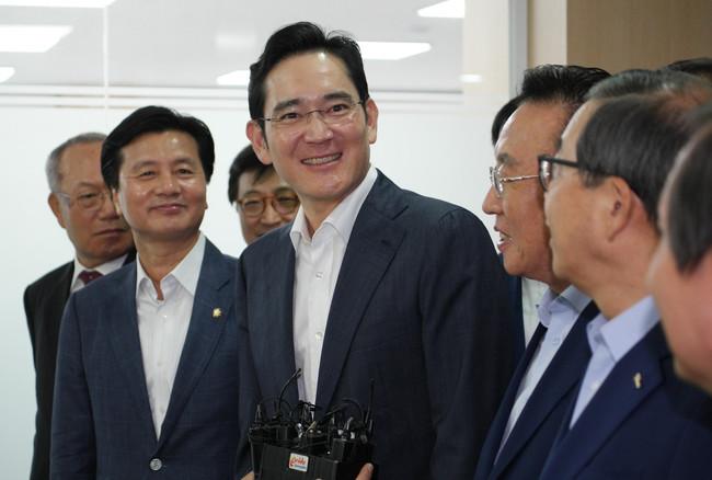 Lee Jae Yong And Kim Kwan Yong