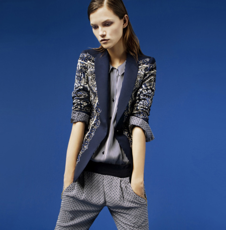 Zara blazer lookbook febrero