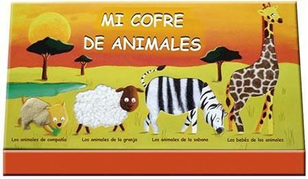 """""""Mi cofre de animales"""", libros para que el niño descubra la naturaleza"""