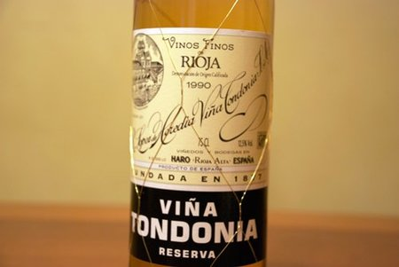 Tondonia Blanco Reserva 90
