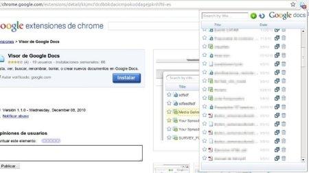 Gestiona tus documentos de Google Docs fácilmente desde Chrome