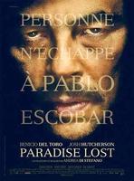 'Paradise Lost', primer cartel de Benicio del Toro como Pablo Escobar