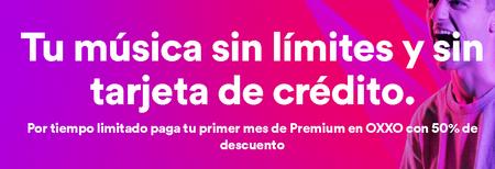 Spotify Promocion Oxxo Mexico