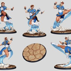 Foto 6 de 8 de la galería street-fighter-the-miniatures-game en Vida Extra