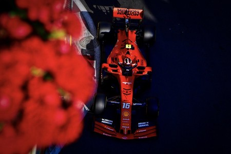 Charles Leclerc Baku Formula1 2019