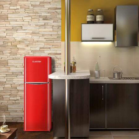 Super Week de eBay: frigorífico combi de estilo retro por 367,99 euros y envío gratis