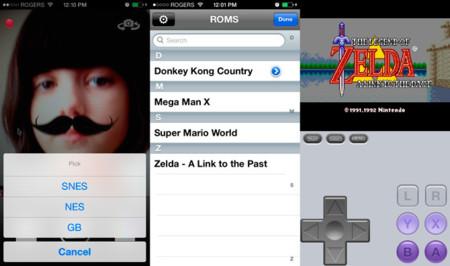 MyStache, una app para añadir mostachos... y jugar a ROMs de Game Boy, NES y Super Nintendo (Actualizado: no disponible ya)