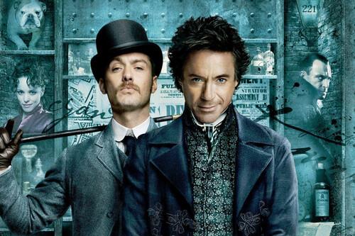 'Sherlock Holmes': una entretenida puesta al día del mítico detective apoyada en la química entre Robert Downey Jr. y Jude Law
