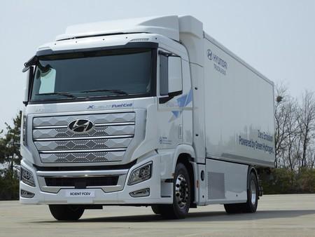 Camión hidrógeno