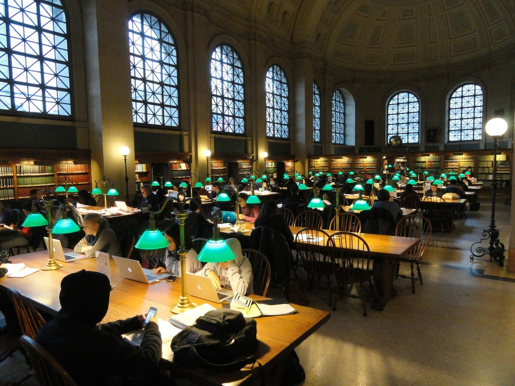 Boston Public Library 85885 1920