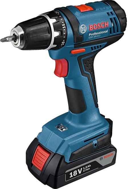 El taladro y atornillador Bosch Professional GSR 18-2-LI puede ser nuestro por 137,26 euros gracias a Amazon