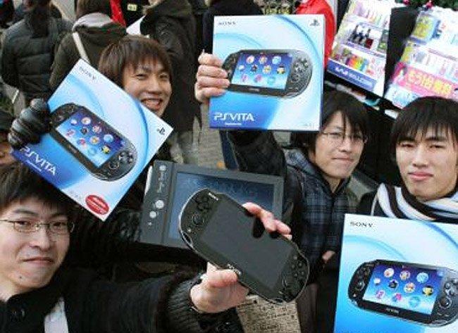 PS Vita en Japón