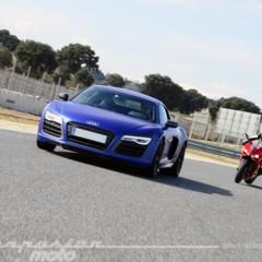 Foto 12 de 24 de la galería ducati-899-panigale-vs-audi-r8-v10-plus en Motorpasion Moto