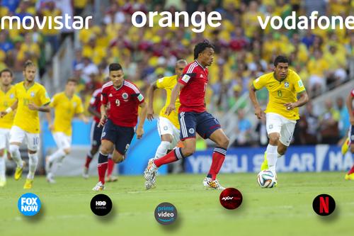 Vodafone toma posiciones ante la inminente guerra que desatará el fútbol en Movistar y Orange