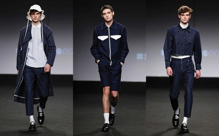Mikel Colas Hace Del Denim Minimalista La Carta De Apertura De La Fashion Week De Madrid 1