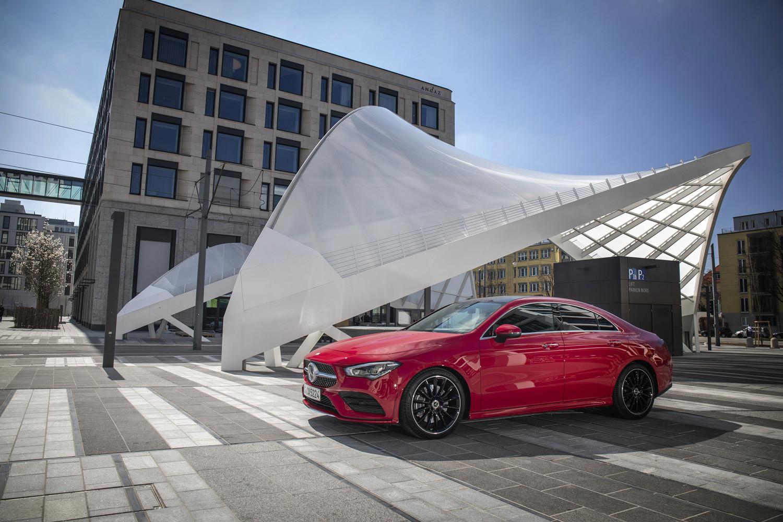 Foto de Mercedes-Benz CLA Coupé 2019, toma de contacto (237/248)