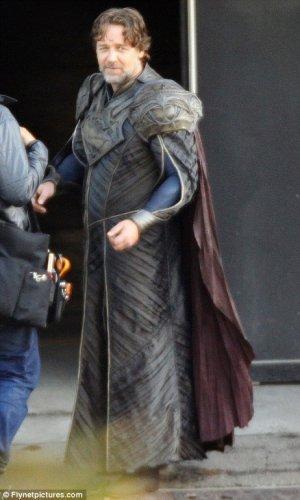 Russell Crowe como Jor-El, primeras imágenes