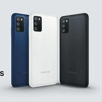 Samsung Galaxy A03s: un gama de entrada barato, con gran batería y lector de huellas